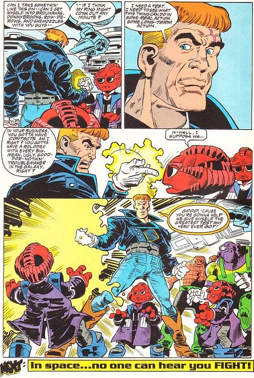 Guy Gardner #2 & #3: What's a Guy to Do?/In Space, No One